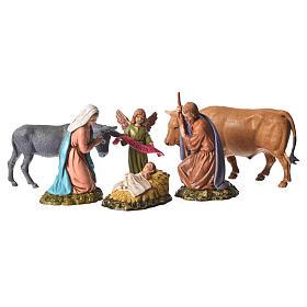 Nativity Scene by Moranduzzo: Moranduzzo nativity scene 11cm, 6 pieces