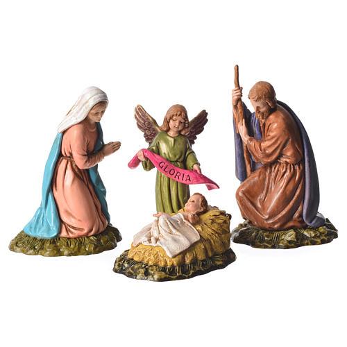 Moranduzzo nativity scene 11cm, 6 pieces 2