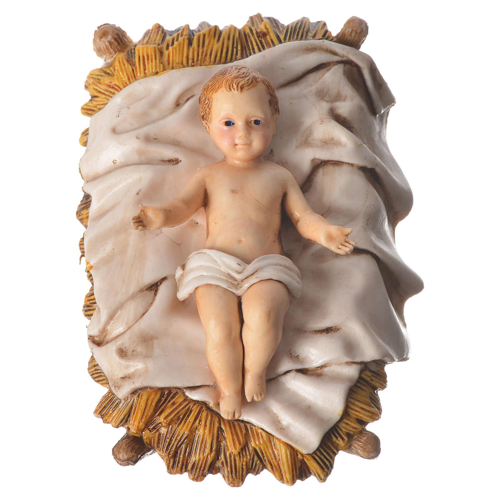 Natividad 13 cm belén Moranduzzo 6 figuras 4