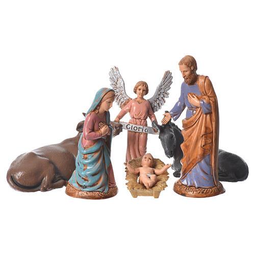 Nativité classique 6  pcs 10 cm Moranduzzo 1