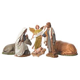 Crèche Moranduzzo: Nativité style arabe 10 cm Moranduzzo