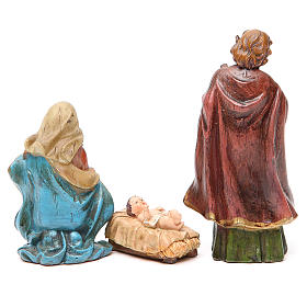 Nativity figurine in resin 15cm, multicoloured s2