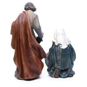 Nativity in resin with 3 figurines measuring 50cm s3