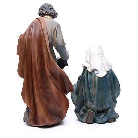 Natividad  resina 50 cm set 3 figuras s3