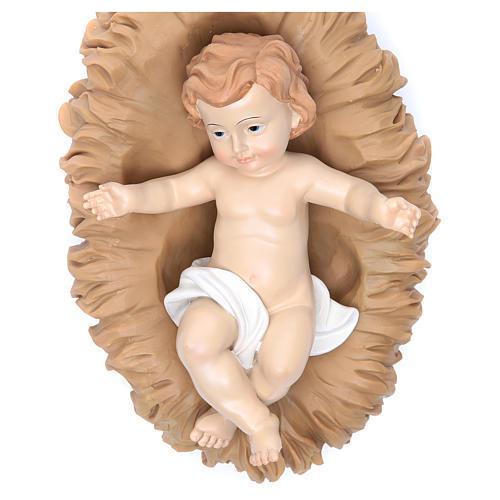 Natividad  resina 50 cm set 3 figuras 4