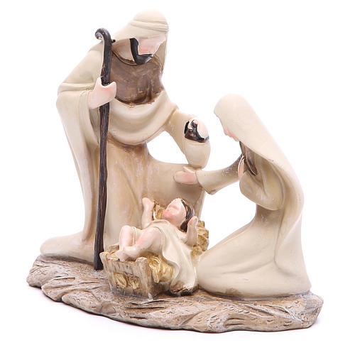 Natividad estilizada 15 cm de resina 2