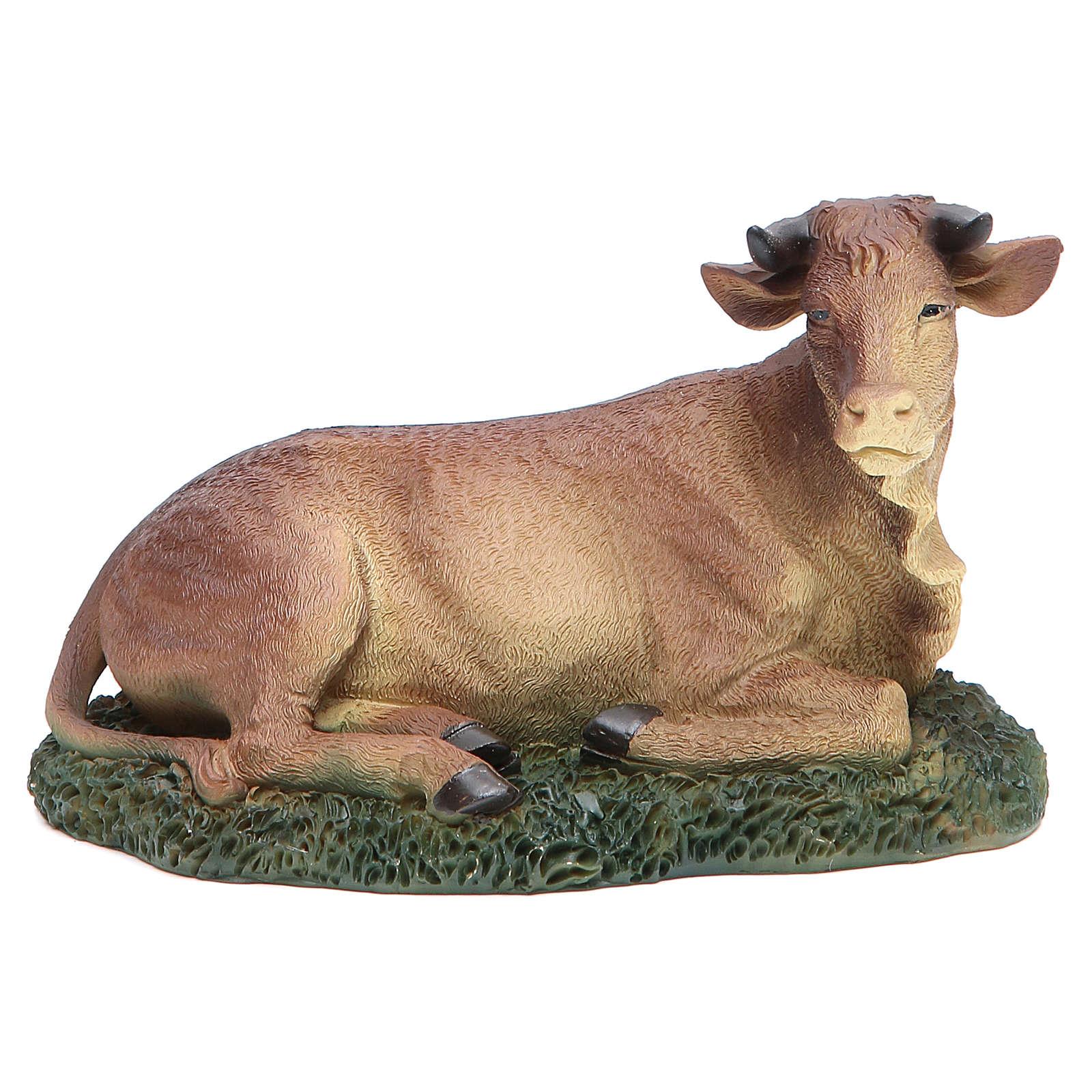 Natività 20 cm 3 pz resina con animali 3