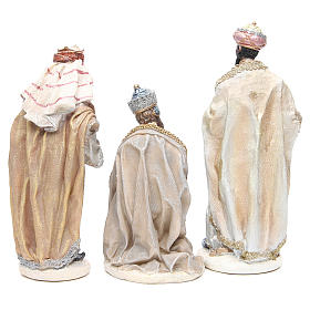 Nativity measuring 31cm, in resin with multi Gold finish s5