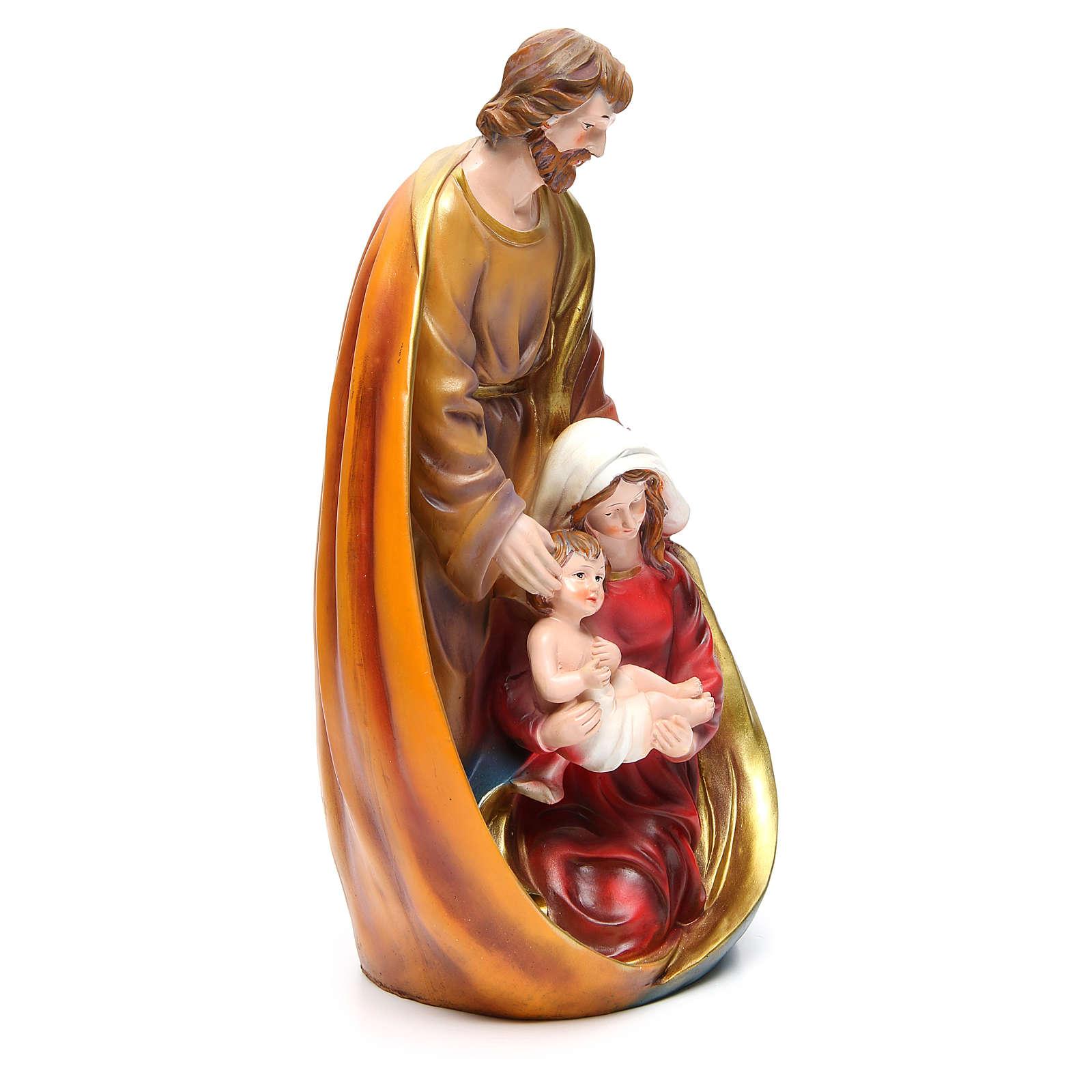 Natividad 39 cm de resina 3