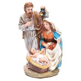 Nativité 3 santons résine h 30 cm s2