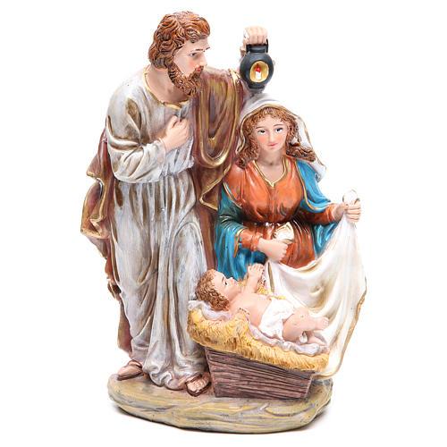 Nativité 3 santons résine h 30 cm 1