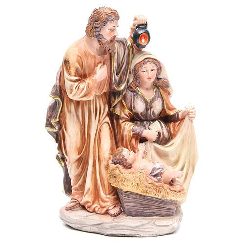 Scène Nativité résine h 30 cm 1