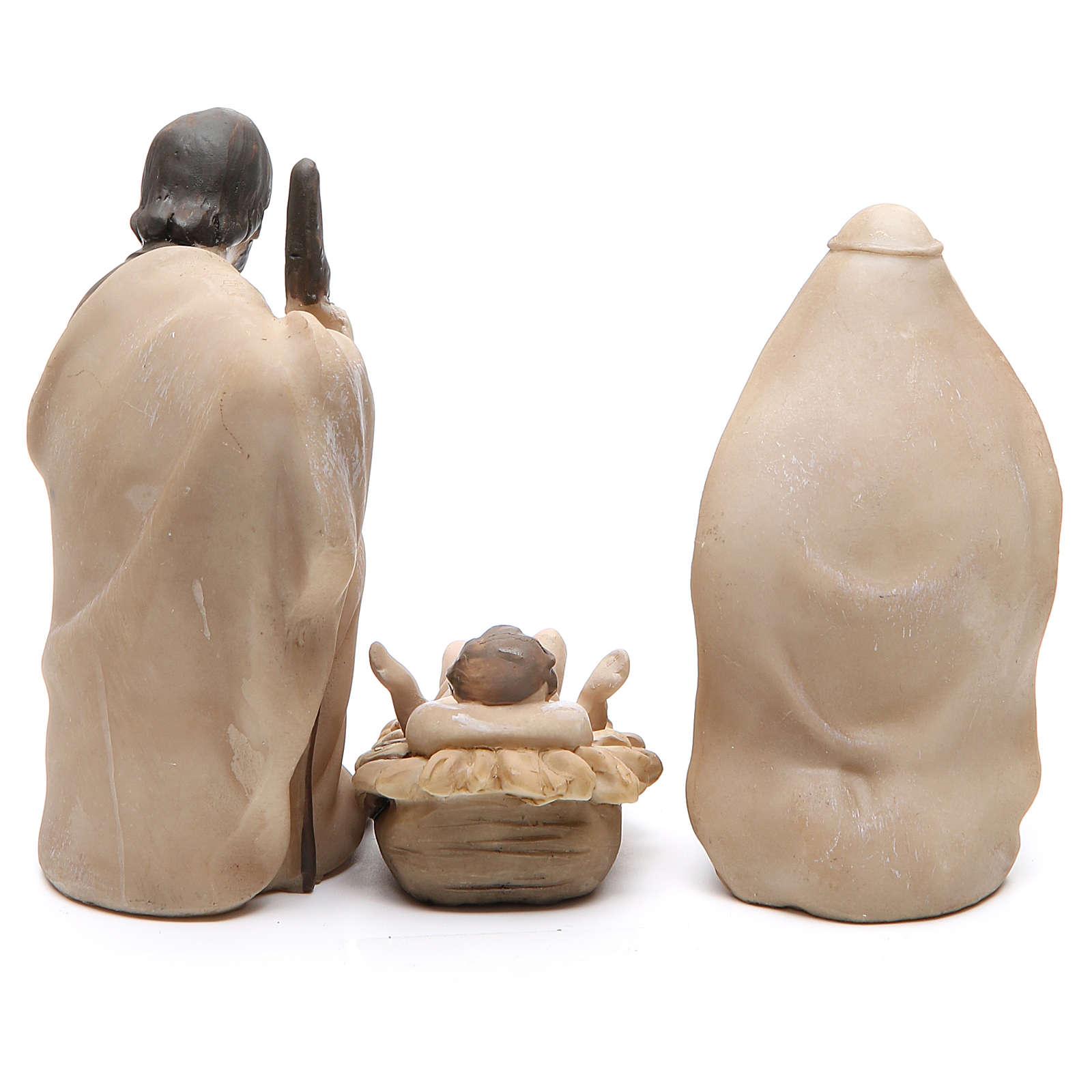 Natività resina stilizzata 3 pezzi 21 cm 3