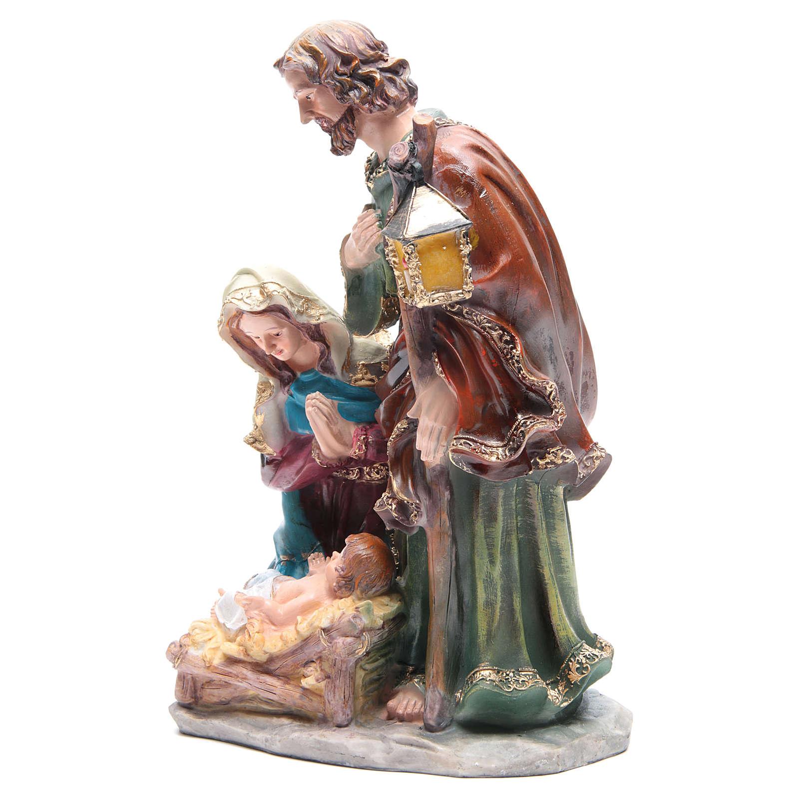 Natividad 37 cm de resina 3 personajes 3