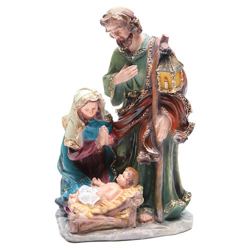 Natividad 37 cm de resina 3 personajes 1