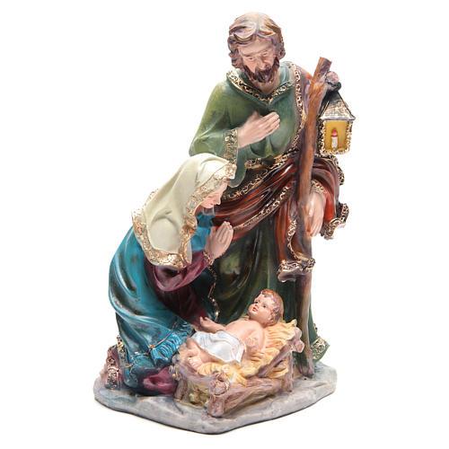 Natividad 37 cm de resina 3 personajes 4