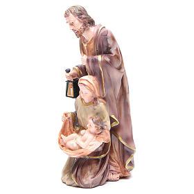 Nativité 30 cm 3 santons résine s2