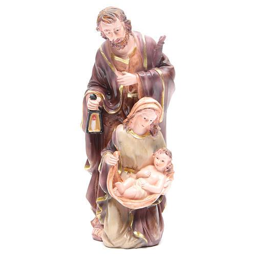 Nativité 30 cm 3 santons résine 1