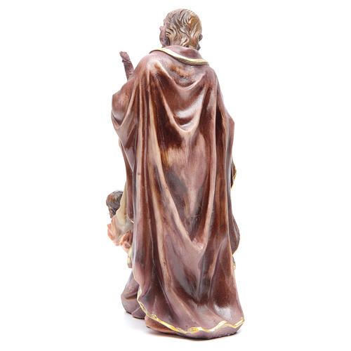 Nativité 30 cm 3 santons résine 3