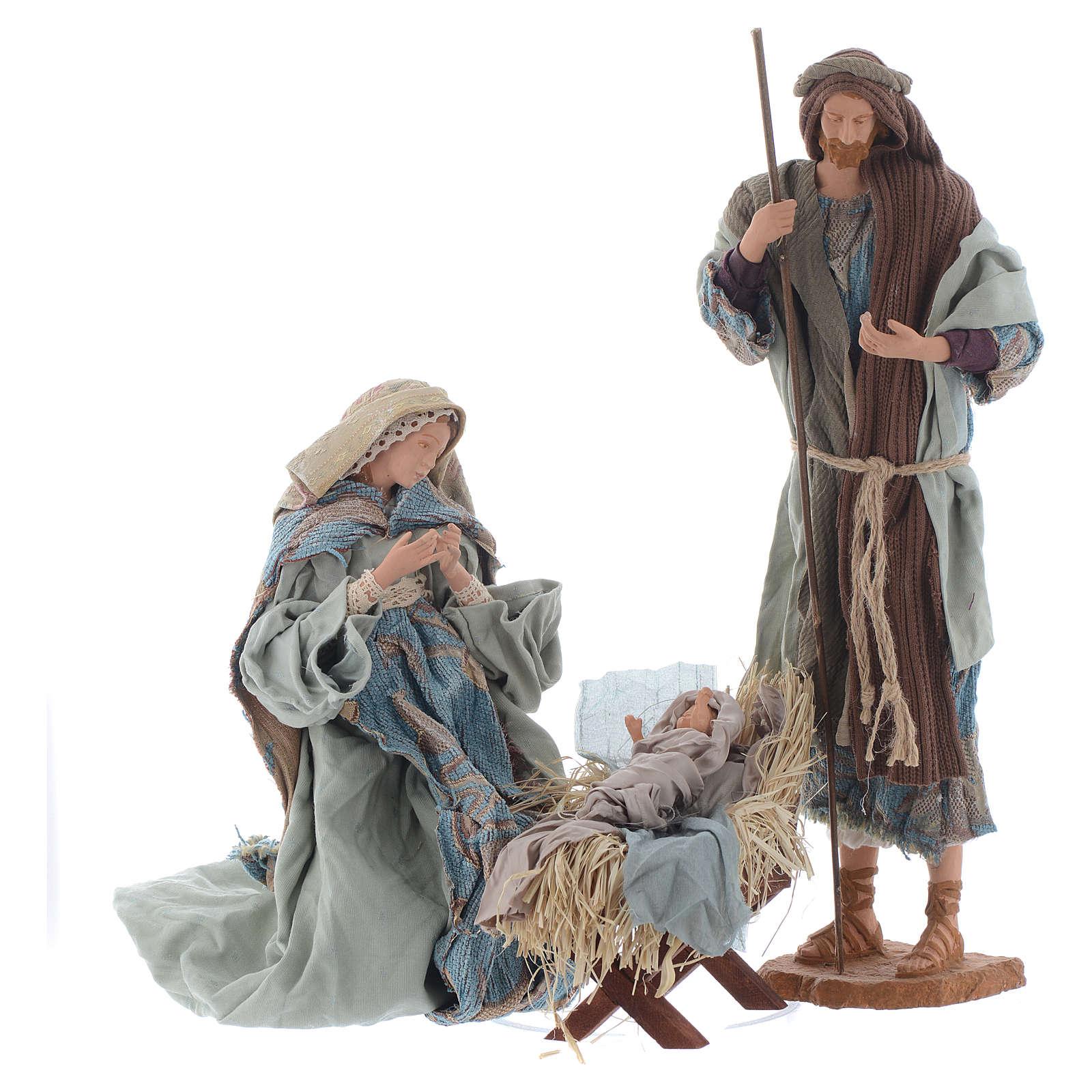 Shabby style Nativity 42cm 3