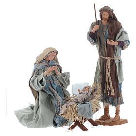 Shabby style Nativity 42cm s1
