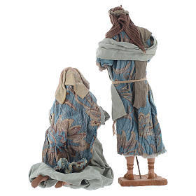 Shabby style Nativity 42cm s3