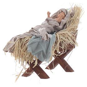 Shabby style Nativity 42cm s4