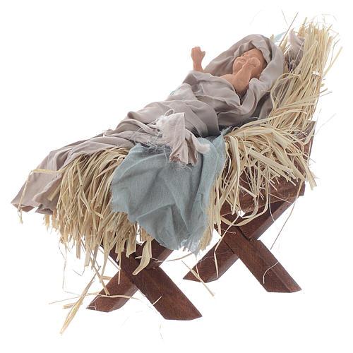 Shabby style Nativity 42cm 4
