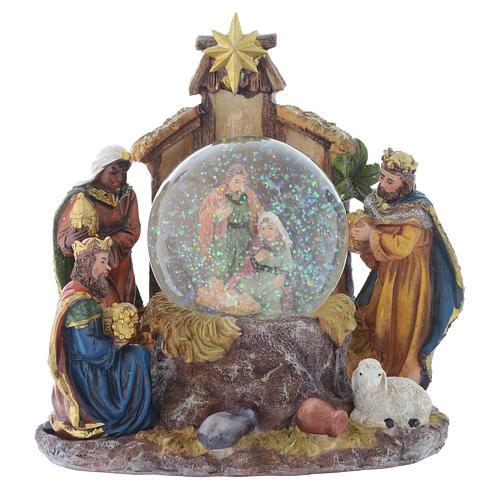Set Natività con palla 22 cm 1