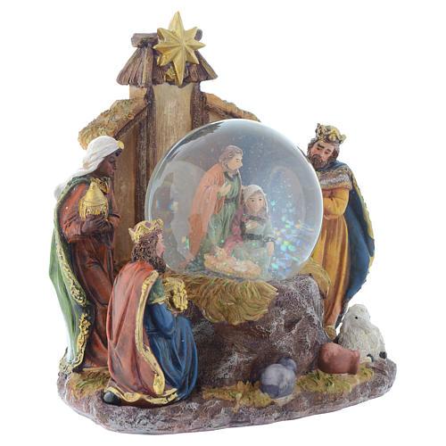 Set Natività con palla 22 cm 3