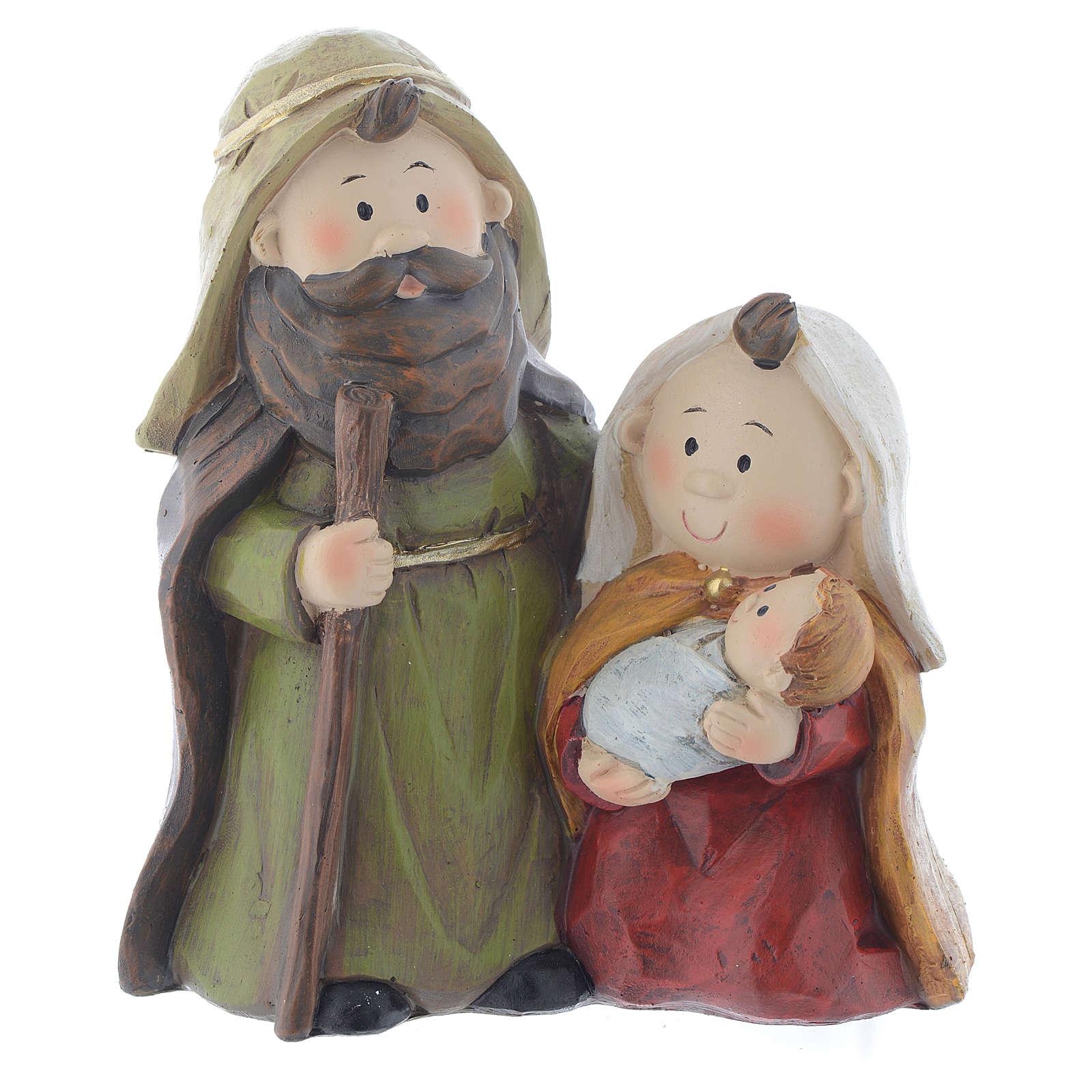 Nativité en résine 15,5 cm 3