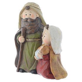 Nativité en résine 15,5 cm s2