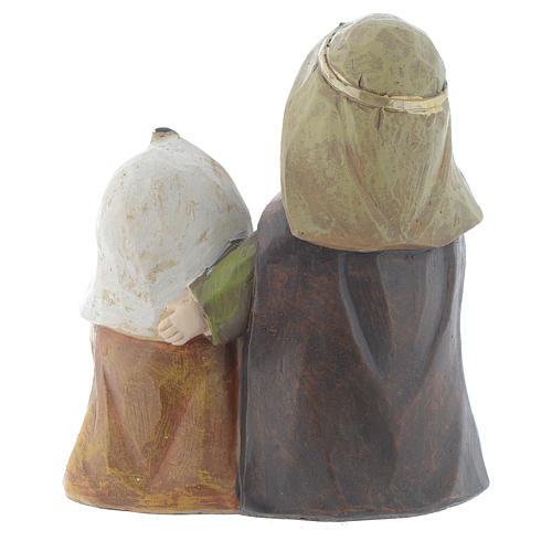 Natività in resina 15,5 cm 3