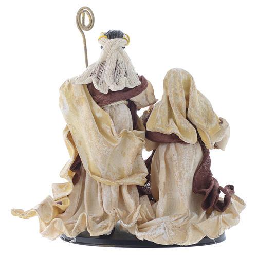 Nativity scene with arch in Cream Brown resin measuring 25cm 4