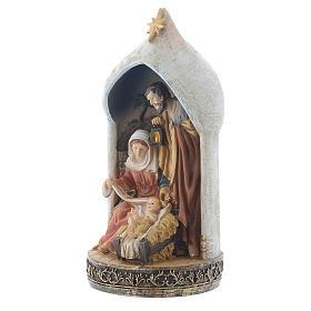 Scène Nativité 18 cm en résine s2