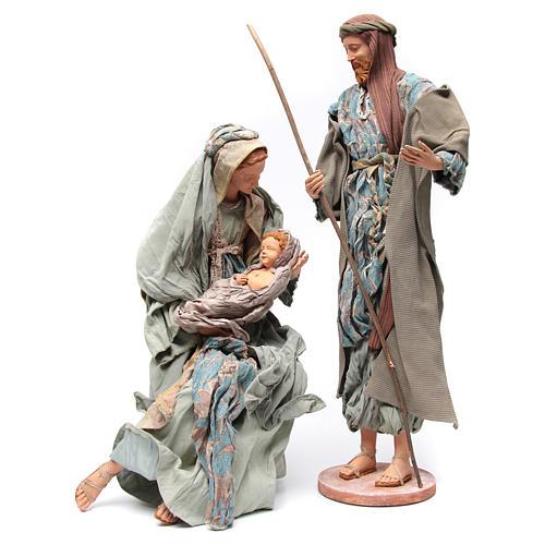 Nativité 90 cm style shabby 1