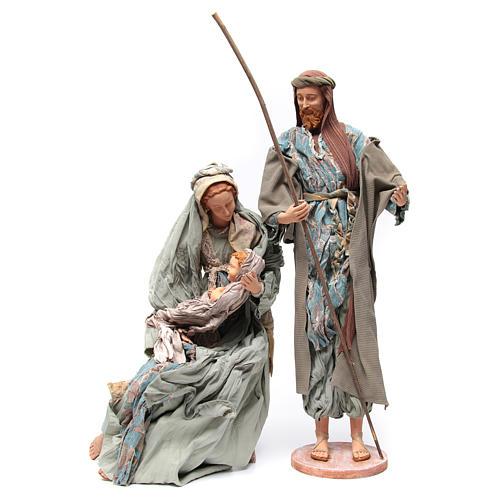 Nativité 90 cm style shabby 2