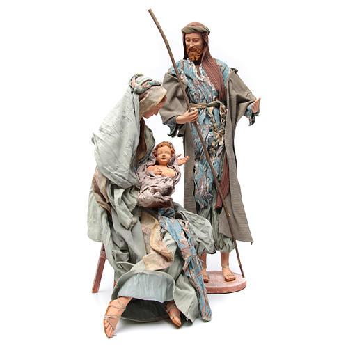 Nativité 90 cm style shabby 3