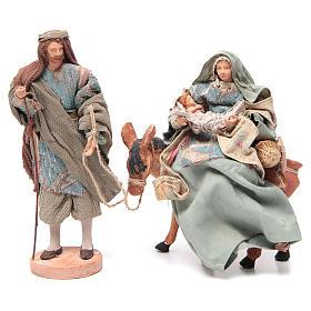 Natividad celeste sobre burro cm 28 s1