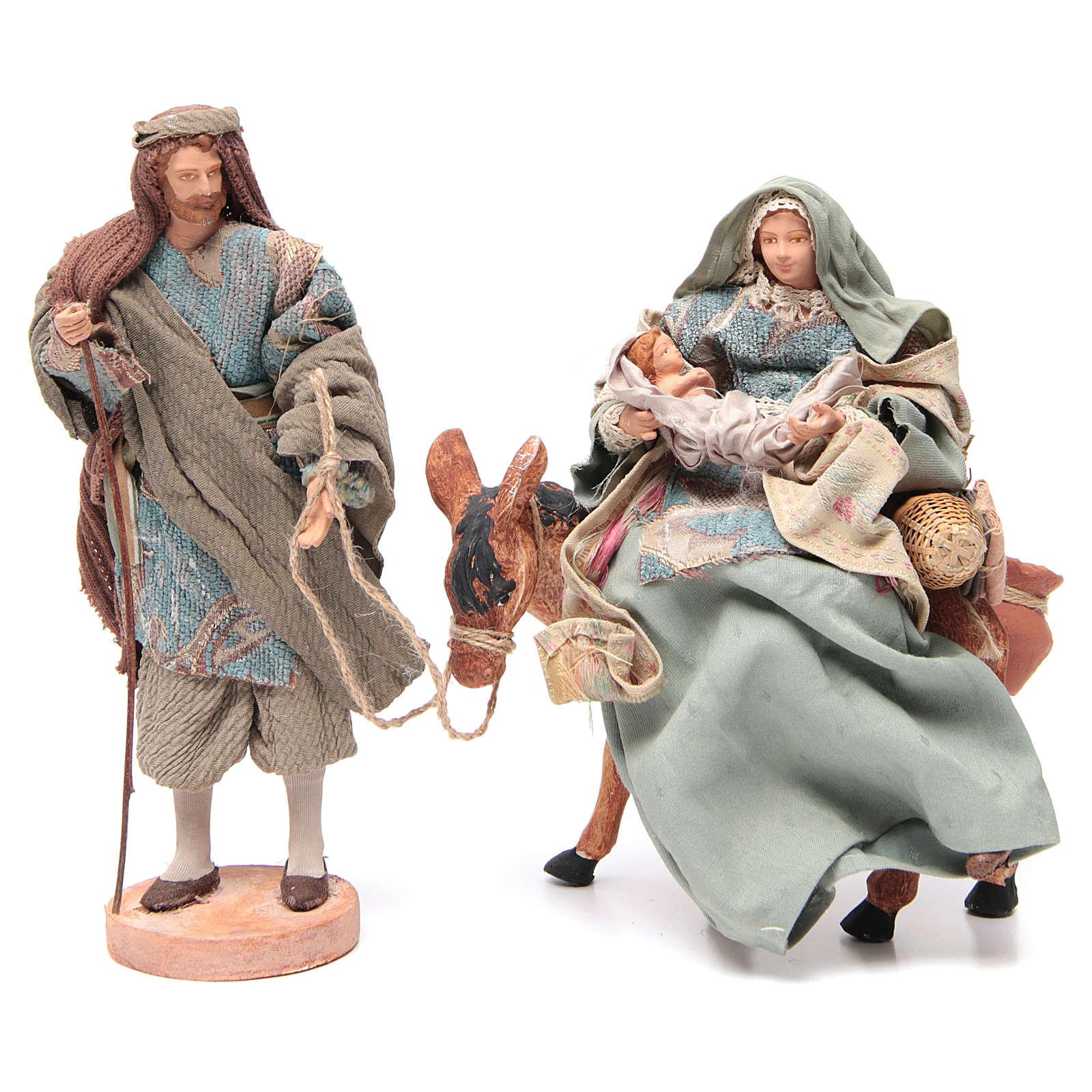 Święta Rodzina i osioł 28cm 3