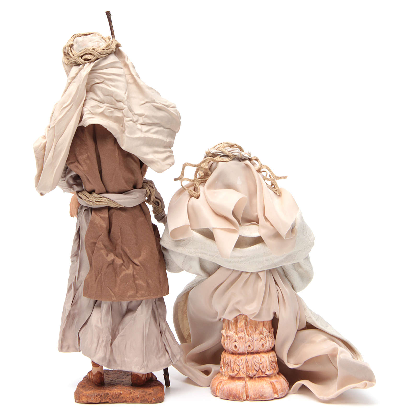 Pearl Nativity, 30cm figurines sitting 3