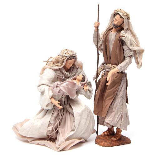 Pearl Nativity, 30cm figurines sitting 1