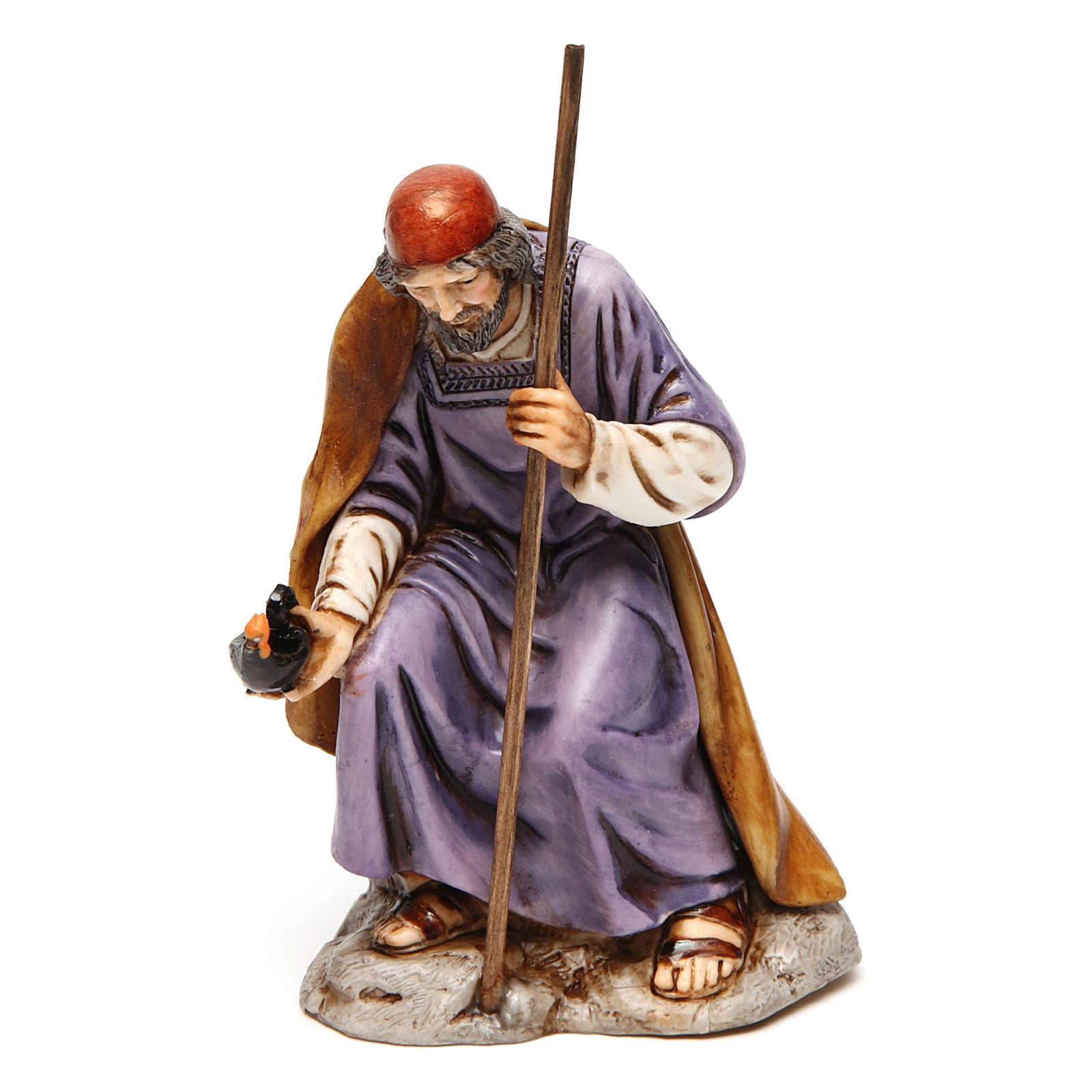 Natividade para presépio Moranduzzo com figuras de altura média 13 cm 4