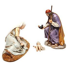 Natividade para presépio Moranduzzo com figuras de altura média 13 cm s4