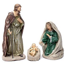 Nativité en résine 30 cm set 3 pcs s1