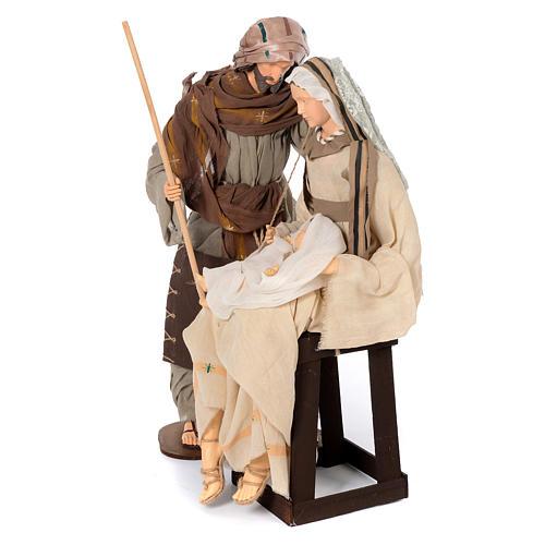 Natividad 80 cm con Maria sentada 2