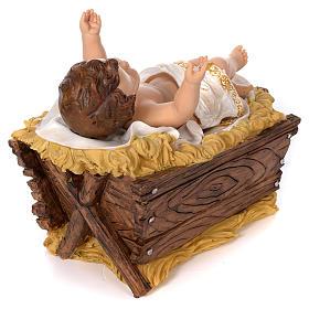 Nativité 60 cm résine peinte s6