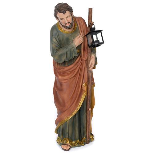 Nativité 60 cm résine peinte 4
