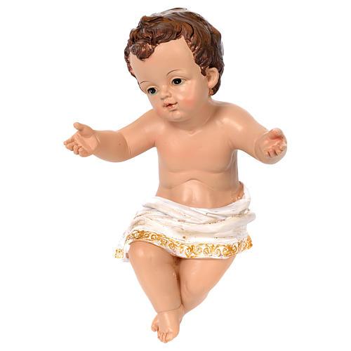 Nativité 60 cm résine peinte 5