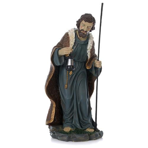 Nativité 60 cm résine peinte Marie assise 5